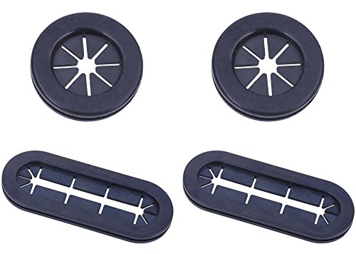 Phobya cable rubber grommet Round & Oval 4 pack