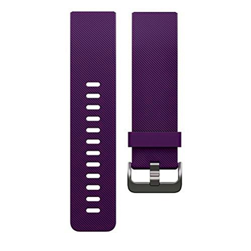 For Fitbit Blaze Band, Aisun Soft Silicone Sport Strap Smart Fitness Watch Band(Purple)