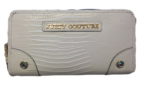 White Couture Leather Juicy - Juicy Couture Zip Continental Wallet Sierrale White YSRU2801
