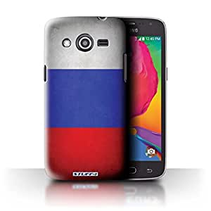 STUFF4 Phone Case / Cover for Samsung Galaxy Avant/G386T / Russia/Russian Design / Flags Collection