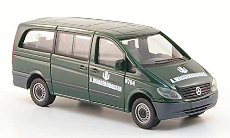 Amazon Com Mercedes Vito Bus A Waggershauser 0 Model Car Ready