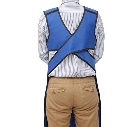 Lolicute Lead Apron,X-Ray Protection Apron 0.35mmPb and Lead Vest Cover Shield 35.4''23.6'' for X-Ray Radiation Front Protective by Lolicute (Image #4)