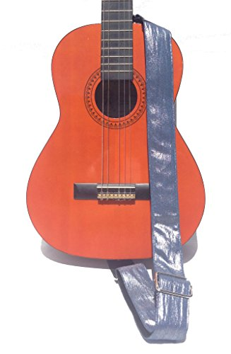 - Guitar Strap; Denim Glam 2