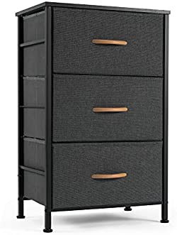 related image of ROMOON Nightstand Chest with 3 Fabric Drawers