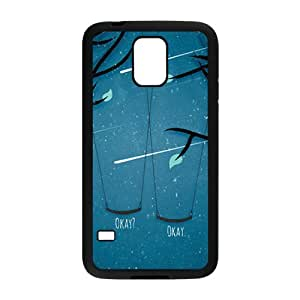 DAZHAHUI Meteor swing romantic scenery Cell Phone Case for Samsung Galaxy S5