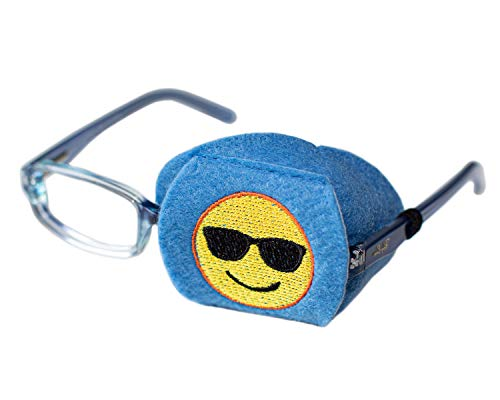 Eye Patch - Left Coverage Child Emoji Eye Glass Eye Patch from Patch Pals