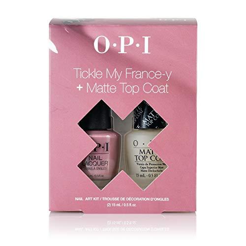 OPI Nail Art Duo Pack, Pink and Matte, 1 fl. oz.