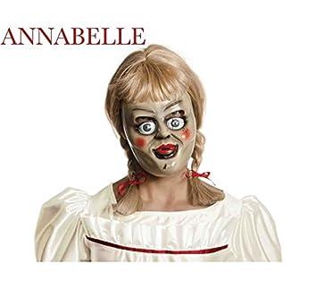Annabelle Kit Mujer: Peluca y Máscara