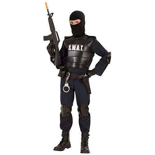 8-10 Years Children's Swat Officer Costume