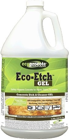 Eco-Etch GEL EE3-8000G-1 Concrete Etch & Cleaner, 1 Gal
