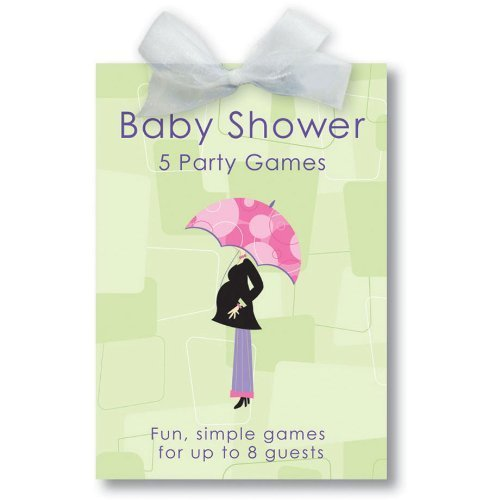 Mod Mom Baby Shower Game Book