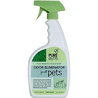 PureAyre Eliminador de olores para perro, gato, pájaro y pequeño animal Spray – Botella de 22 oz: Amazon.es: Industria, empresas y ciencia