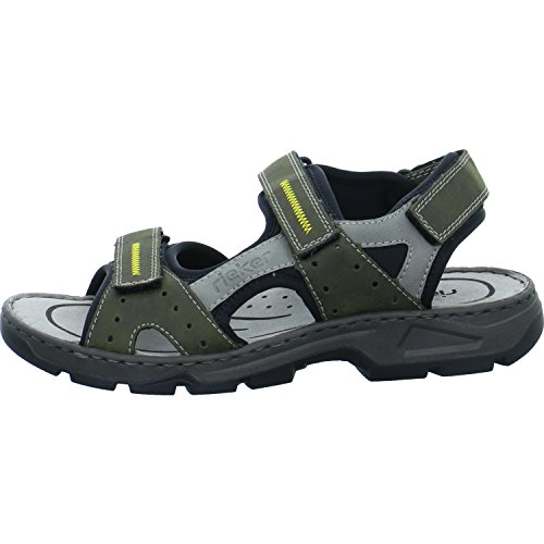 Rieker Men Sandals Beige, (Olive/Cement/Schwarz) 26157-54 for sale  Delivered anywhere in USA