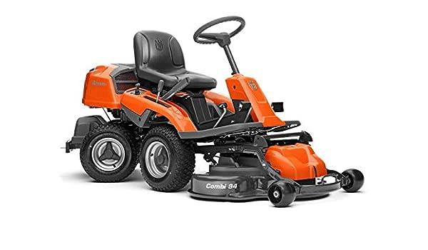 Husqvarna Rider R216-cortacésped corte: 9600 W, corte 94 cm ...