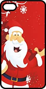 Excited Santa Claus Tinted Rubber Case for Apple iPhone 4 or iPhone 4s