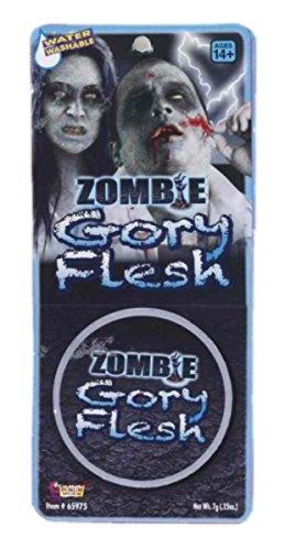 Zombie Gory Flesh Makeup (Zombie Gory Flesh - Fake Skin)