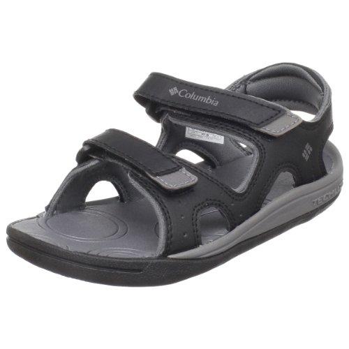 Columbia Sportswear Techsun Sport Sandal (Toddler/Little Kid/Big Kid),Black/Smoked Pearl,1 M US Little Kid