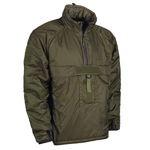 (Snugpak Military Mountain Leader 3 Softie Smock, Windproof Water Resistant Jacket, X-Large, Olive)