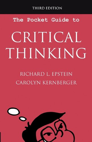 The Pocket Guide to Critical Thinking, 3rd edition