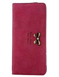 Jonesport Womens Wallets Ladies Coin Purses High Quality Girls Card Holder for Women Lady Girl New PU (man-made leather)