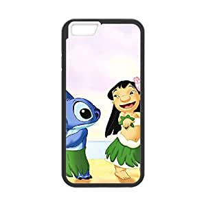 iPhone 6 4.7 Inch Cell Phone Case Black Disneys Lilo and Stitch Lpfn