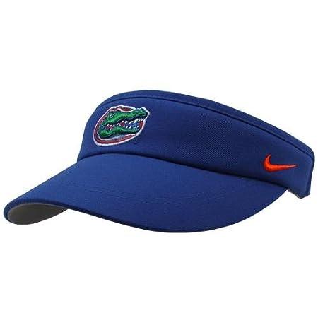 2bd69f3e956 University of Florida Gator hat   Nike Florida Gators Sideline Dri-FIT  Adjustable Performance Visor - Blue