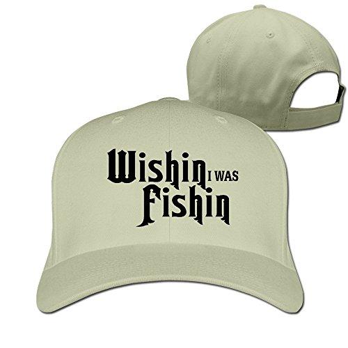 Wishin I Was FishinHat Baseball Caps