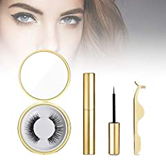 How to use it faster? 1. Carefully place the false eyelashes on the top and bottom of the tweezers. 2. With the auxiliary clip close to the eyelashes, the natural eyelashes are in the middle. 3. Let the false eyelash magnets match each other,...