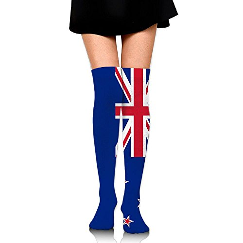 Coral Sea Islands Flag Cotton Compression Socks For Women. Graduated Stockings For Nurses, Maternity, Travel, Flight, Pregnancy, Varicose Veins,Running & Fitness, Calf Support.