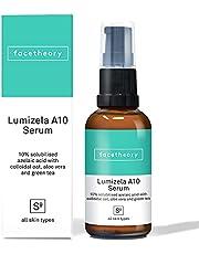 Lumizela Azelaic Acid Serum A10 with 10% Azelaic Acid, Colloidal Oat and Green Tea | 1.0 Fl. Oz.