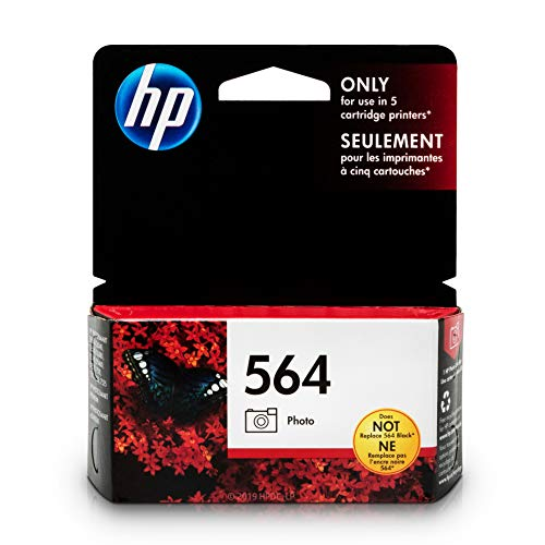 HP 564 Photo Ink Cartridge (CB317WN) for HP Photosmart B8550 D5445 D5460 D7560 7510 7515 7520 7525 C6340 C6350 C6380 C510a C309g C310a HP Photosmart Premium Fax e-All-in-One Printer C410a ()