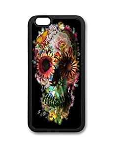 Fantastic Faye PC Material Skull Cute Hot Selling Top Quality Special Design Fire Flowers Motobike Guitar Cell Phone Cases For iPhone 6 No.9