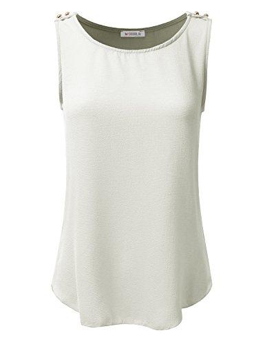 Ivory Blouse Shirt - 7
