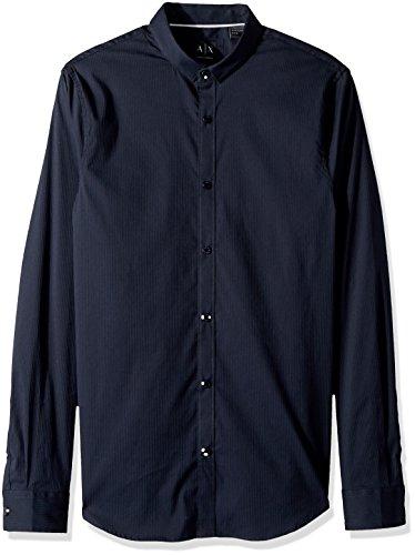 A%7CX+Armani+Exchange+Men%27s+Long+Sleeve+Stripe+Shirt%2C+Stripe+Navy%2FNavy%2C+L