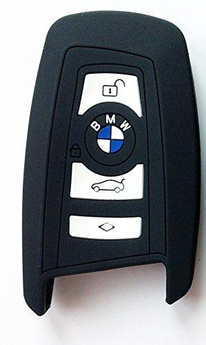 BMW Coque de cl/é pour voiture en silicone pour BMW 1//3//4//5//6//7 S/érie F12//F13//F20//21//F30//F26//F23//F34//F35 Noir