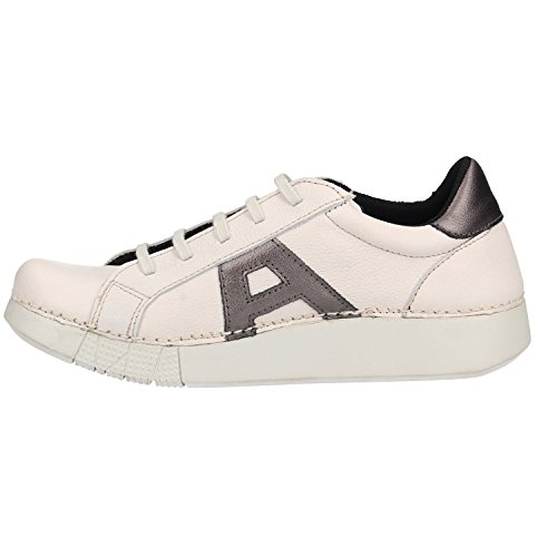 ART Chaussures 1134S Grain Soft Blanc Anthracite Blanc cW3j3O
