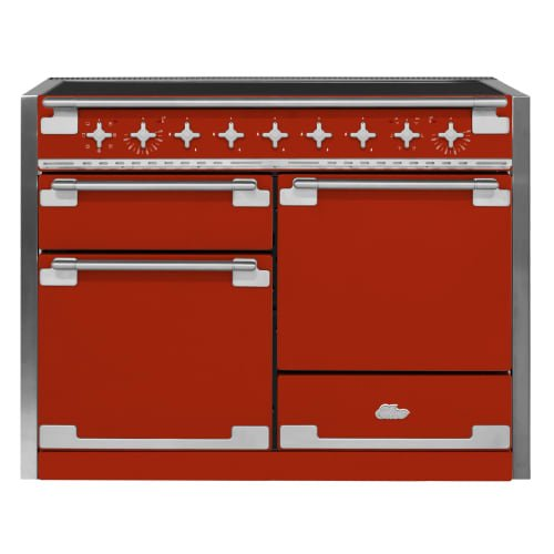 UPC 768388076344, AGA AEL48IN Elise Series 48 Inch Wide 6 Cu. Ft. Slide In Electric Range with Gli, Scarlet