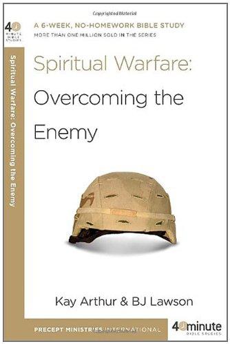 Spiritual warfare a six week no homework bible study more than spiritual warfare a six week no homework bible study more fandeluxe Image collections