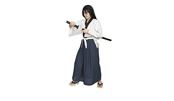 Amazon.com: Thief Series Samurai Swordsman Costume Men ...