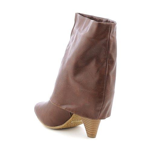 Bambù Da Donna Trinity-01 Boot Castagna