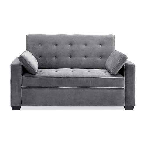 Sofa Lifestyle Sleeper Solutions (Lifestyle Solutions Serta Augustus Convertible Full Sofa Bed)