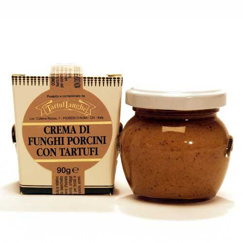 Porcini Cream - Cream of White Truffles and Porcini Mushrooms (Crema di Funghi con Tartufi)