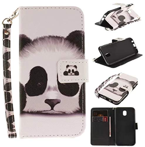 - Galaxy 2018 A6 Case, Very Light Slim Print Painting Flip Card Slots Stand Wallet PU Leather Style, WEIFA 2018 Newest Super Cool Thin Cellphone Cover Case for Samsung Galaxy A6 2018 Cute Panda