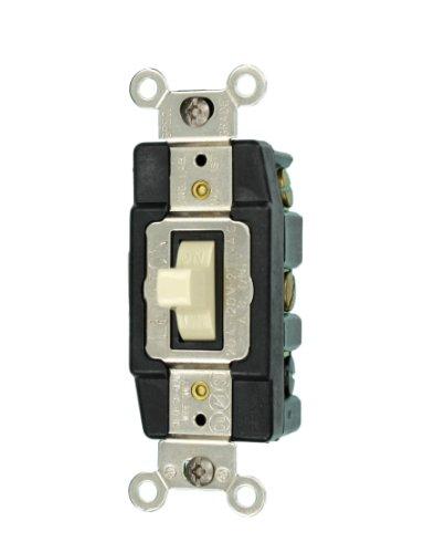 Leviton 1286-I 20 Amp Double-Pole Toggle Switch Industrial -