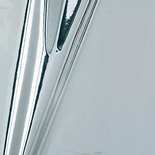 d-c-fix 347–0003Ddeco–Rollo de película, Glossy Plata, 45x 149,9cm, Espejo, 17.71' x 59' Roll, Mirror