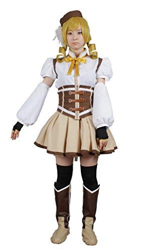 Tomoe Mami Costume (MILICA BOOKS Puella Magi Madoka Magica Mami Tomoe Cosplay Costume Size M)