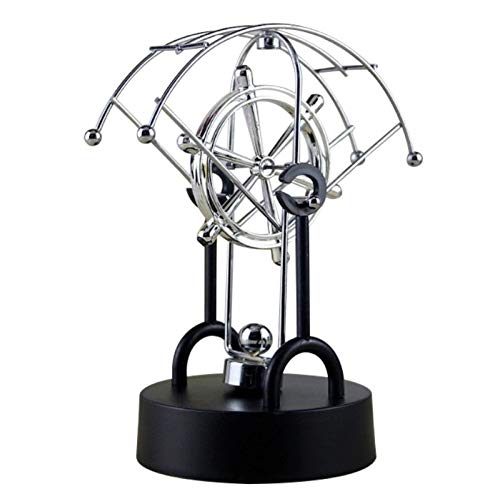 Decorative Decorative - 1piece Kinetic Art Mobile Milky Way Gizmos Perpetual Motion Spherical Pendulum Revolving Desk - Desktop Decor Pendulum Rat Art Toy Motion & Miniatures Toy Gizmo P ()