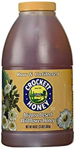 Crockett Honey Raw and Unfiltered Arizona Desert Wildflower Honey