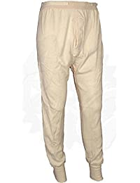 Wool Blend Long Underwear Pants, Thermal Bottoms, Made in USA