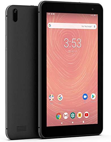 Android 9.0 Tablet 7 Inch WiFi PC Tablets - Winnovo T7 MT8163 2GB RAM 16GB ROM IPS 2.0MP+2.0MP Camera Bluetooth GPS FM (Black)